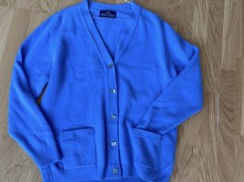 Weste Wolle blau Neu Peter Scott