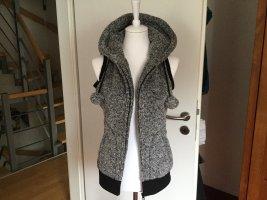 EMP Chaleco con capucha gris