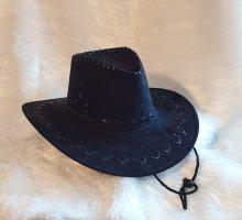 Sombrero de vaquero negro Cuero