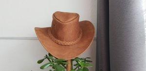 Kapelusz kowbojski jasnobrązowy