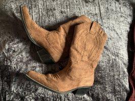 Graceland Buty w stylu western jasnobrązowy-brązowy