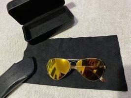 Westward Leaning Occhiale da pilota oro-marrone chiaro