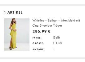 Whistles Maxikleid gelb