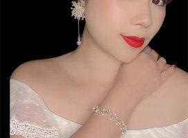 handgemacht Jewellery Set white