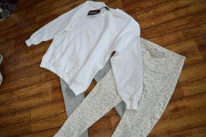 White Ultimate Oversized Sweater Gr. M/40 Prettylittlethink