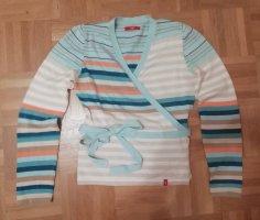 Wickel-Pullover gestreift ESPRIT