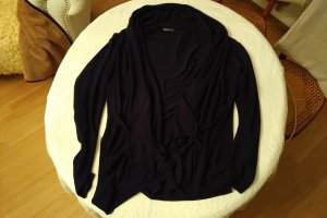 Janina Wraparound Jacket dark blue