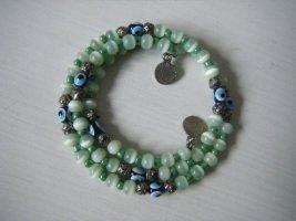 Wickelarmband Armreif aus Glasperlen