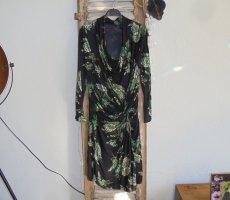 ohne Marke Kopertowa sukienka Wielokolorowy