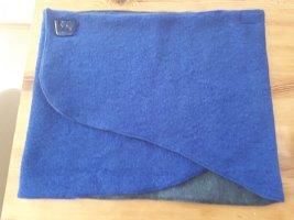 Falda cruzada gris pizarra-azul