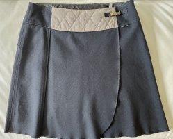 marc cain sports Kopertowa spódnica szaro-brązowy-ciemnoniebieski Bawełna