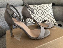 Wide fit high heel sandaletten