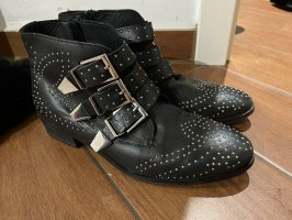 Another A Ankle Boots gold-colored-black