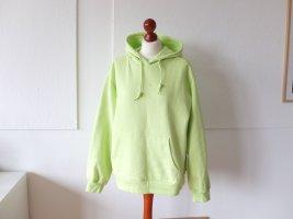 wie neu Adidas Sweatshirt Gr 40 Hoodie Sweater neongelb gelb lime