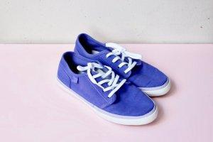 Wie neu! DC Sneakers Gr. 37 Stoff lila/violett