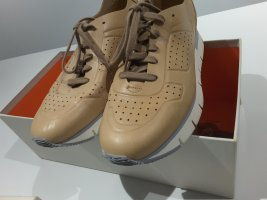 wie NEU: feiner Santoni Leder Sneaker