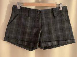 wie neu italienische warme Shorts Winter Hose 36 38 M Grau