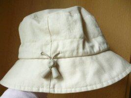Loevenich Sombrero de ala ancha beige claro Algodón