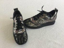 Wie Neu Luxus Leder Schuhe von Bikkembergs made in Italy Gr.39 schön modern LP 169-