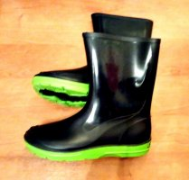 Wellies dark blue-green