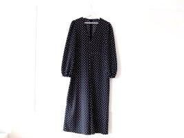 Wie neu Zara Jumpsuit Gr. L 38 40 Einteiler schwarz weiß gepunktet Overall