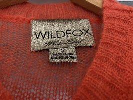 Wildfox Cárdigan de punto fino multicolor Poliéster