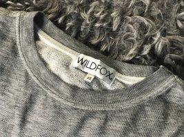 Wildfox Felpa grigio-grigio chiaro Tessuto misto
