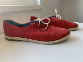 Lace Shoes red