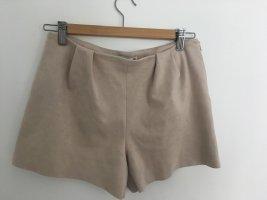 Wildleder Hotpants