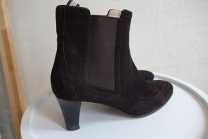 Unützer Booties dark brown leather