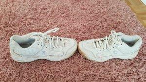 wilson tennis schuh sportschuh SNEAKERS white Leder 38