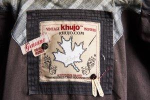 Khujo Vintage Cappotto con cappuccio marrone-grigio