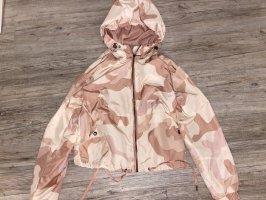 Windbreaker rosa camouflage