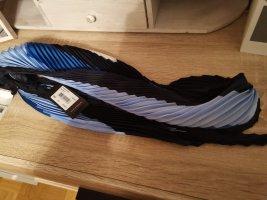 Windsor Zijden sjaal azuur-staalblauw
