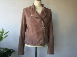 Windsor Wildlederjacke/Bikerjacke in rose, Gr. 36 wie neu
