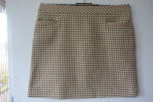 St. emile Spódnica mini jasnobrązowy-jasnobeżowy Wełna