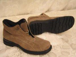 Winter Schuhe Größe 39 Fleecefutter Braun Schnürer Boots Braun