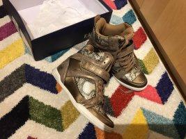Kaporal Heel Sneakers bronze-colored