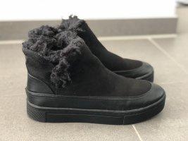 Winter Stiefeletten schwarz 37