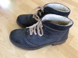 Rieker Bottes de neige bleu acier