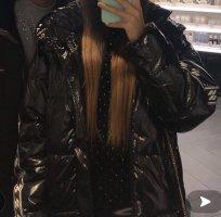 C&A Płaszcz zimowy czarny-biały
