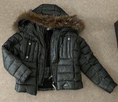 Nickelson Veste de fourrure argenté-gris