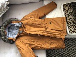 Timberland Jack van imitatiebont donker oranje