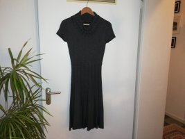 Comma Woolen Dress dark grey