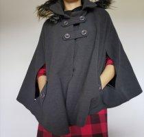 Płaszcz zimowy ciemnoszary