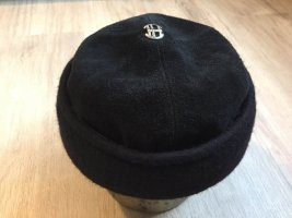 Iceberg Wełniany kapelusz czarny-srebrny