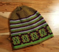 Ohne Knitted Hat multicolored polyester