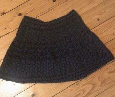 Knitted Skirt brown