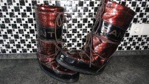 Gant Snow Boots bronze-colored-black brown