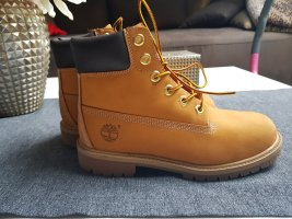 Timberland Lace-up Boots cognac-coloured